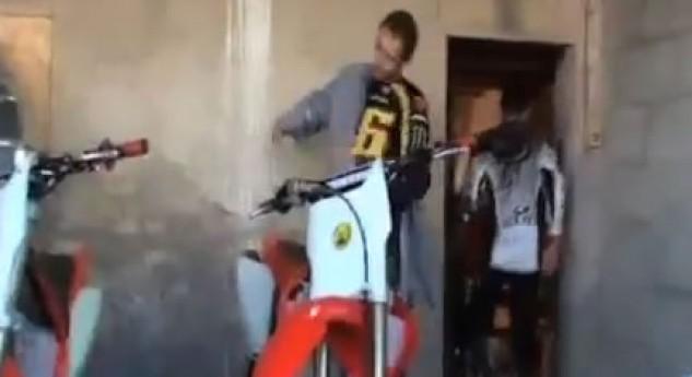 Valentino Rossi – 2012 training off-road