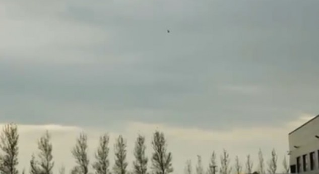 Matt Griffin practice session with BMW M3 and helicopter!