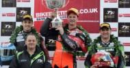 Kawasaki riders celebrate 3 Isle of Man TT wins and 8 podium places