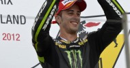 Dovizioso takes Sachsenring podium after late drama