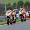 Close race for Rossi and Hayden at the Sachsenring