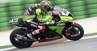 Sykes fastest on new 17-inch wheels and tyres