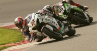 CAMIER ON FRONT ROW AT SILVERSTONE WSB