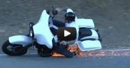 Harley Davidson Street Glide Crash!