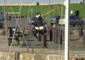 FJR road test video accident!
