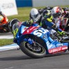 NEW GSX-R1000 PODIUMS AT DONINGTON SUPERSTOCK