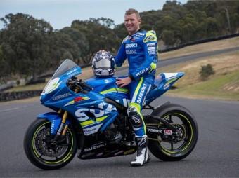 Suzuki's New Line-Up For Australian Superbikes
