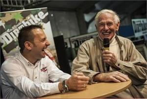 Steve Plater interviewing Sammy Miller
